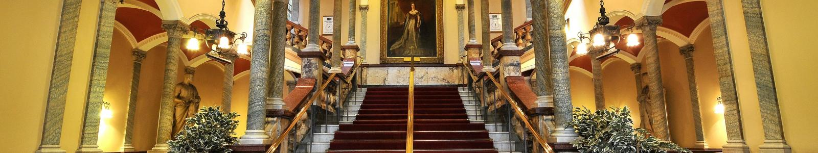 Hull Ciity Hall main staircase